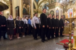 Всеношное бдение в Успенском кафедральном соборе