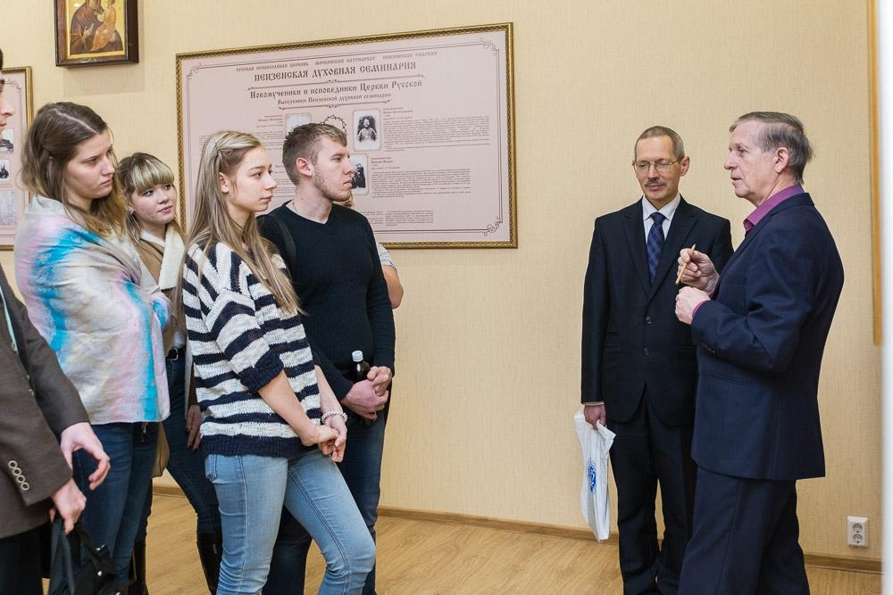 Встреча с М.В. Шкаровским