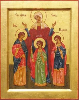 В храм Воскресения Христова города Пензы будут доставлены мощи святых мучениц Веры, Надежды, Любови и их матери Софии