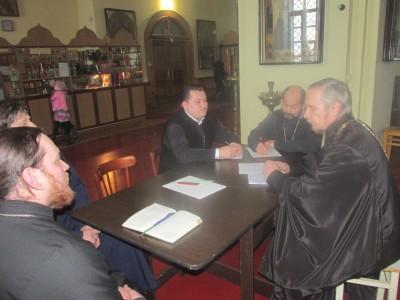 Прошло собрание клириков Мокшанского благочиния