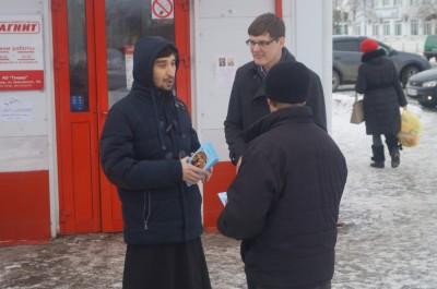 Православная молодежь с. Бессоновки провела уличную миссионерскую акцию