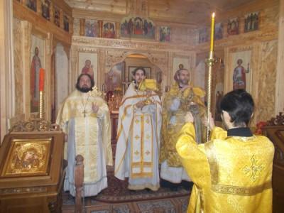 Праздник Собора Трех святителей в Бессоновке