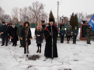 Священник поздравил учащихся кадетского корпуса с 5-летием со дня открытия