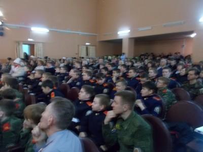 Жителей Бессоновки поздравили с Днем защитника Отечества