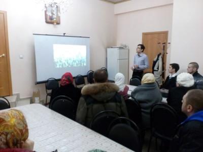 В воскресной школе для взрослых при Никольском храме Пензы состоялась лекция о вреде сквернословия