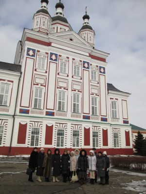 Пензенские паломники посетили святыни Наровчата