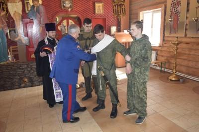 Зареченские казаки избрали нового атамана