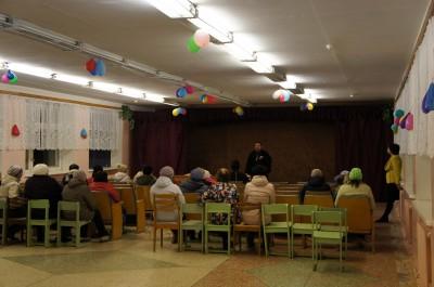 Священники приняли участие в общешкольном собрании