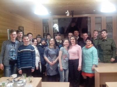 В Прощеное воскресенье состоялась очередная встреча православной молодежи Никольского городского благочиния