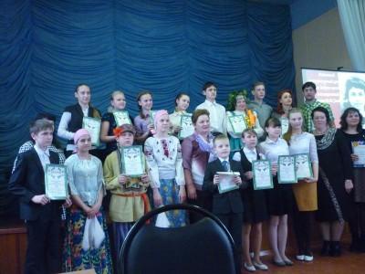 Воспитанники воскресной школы при Богоявленском храме Мокшана приняли участие в литературно-поэтическом конкурсе