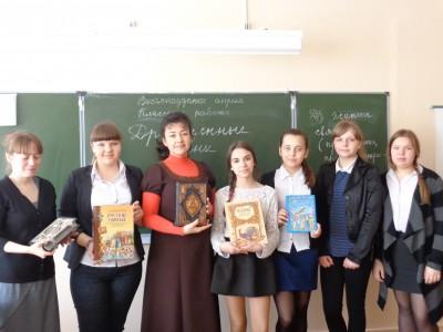 Для учащихся общеобразовательной школы № 51 города Пензы прошел литературно-духовный час «Драгоценные камни веры»