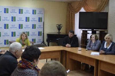 Священник принял участие в заседании этноконфессионального совета города Заречного