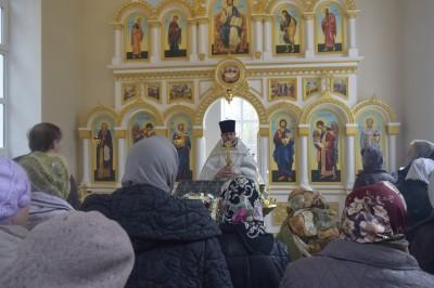Храм-часовня Святого Лазаря Четверодневного в Заречном отметил свой второй престольный праздник