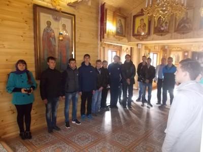 В Бессоновке состоялся молебен для новобранцев, призванных в ряды российской армии