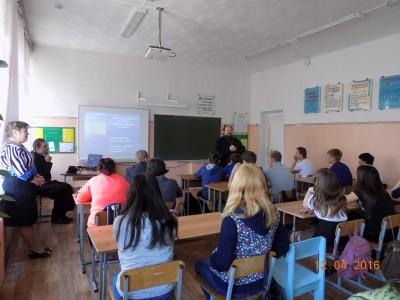 Учащиеся общеобразовательной школы села Чаадаевка встретились со священнослужителями