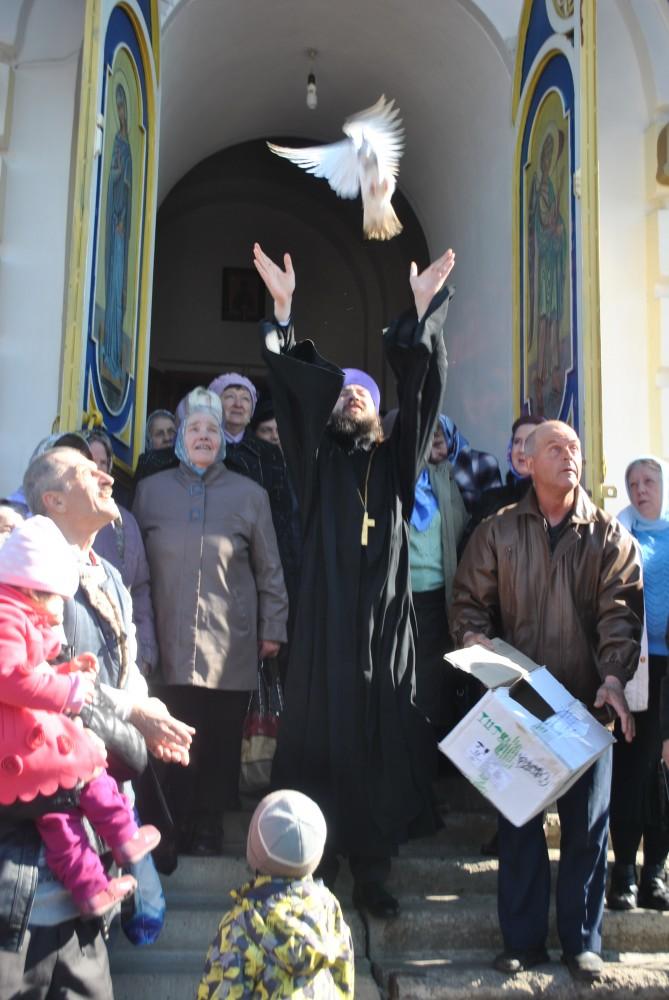 Праздник Благовещения Пресвятой Богородицы отметили в Каменке