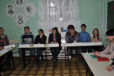 В Каменке состоялась встреча священника с трудными подростками