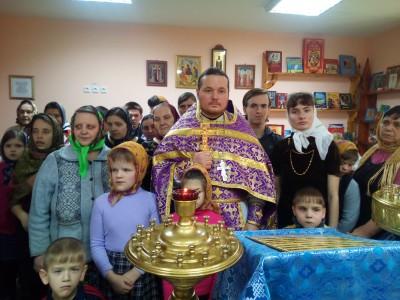 В Мокшанском детском доме–интернате для умственно отсталых детей состоялась Божественная литургия