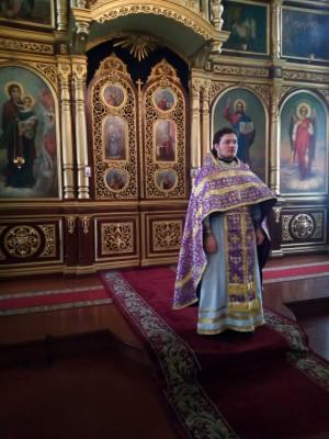 В Михайло-Архангельской церкви Мокшана состоялось миссионерское богослужение