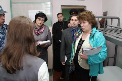 Уполномоченный по правам ребенка в Пензенской области посетила несовершеннолетних, содержащихся в СИЗО-1