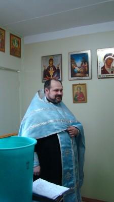 Священник посетил наркологический реабилитационный центр села Русский Ишим
