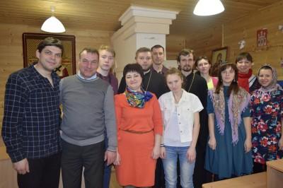 В канун праздника Благовещения Пресвятой Богородицы состоялась встреча молодежи Никольского городского благочиния
