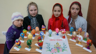 В Мокшане прошел конкурс на лучшее пасхальное яйцо