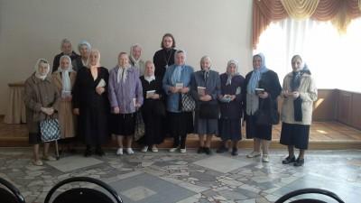 В Успенском кафедральном соборе состоялась встреча с ветеранами Великой Отечественной войны
