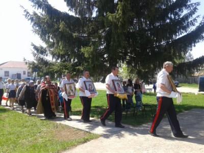Празднование Дня Победы в селе Чаадаевка
