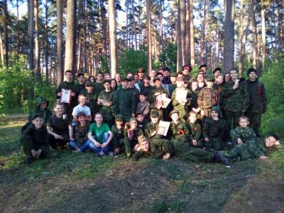 В Никольском городском благочинии состоялись II военно-патриотические состязания «Георгиевская Лента»