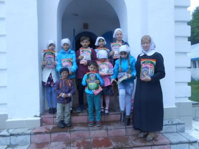 В воскресной школе при храме Успения Пресвятой Богородицы в поселке Победа завершился учебный год