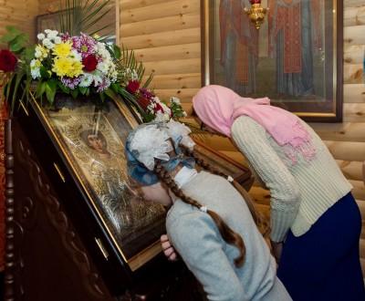 Храм св. вмч. Георгия Победоносца села Бессоновки отметил свой престольный праздник
