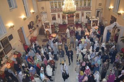 Праздник Светлого Христова Воскресения встретили в Заречном