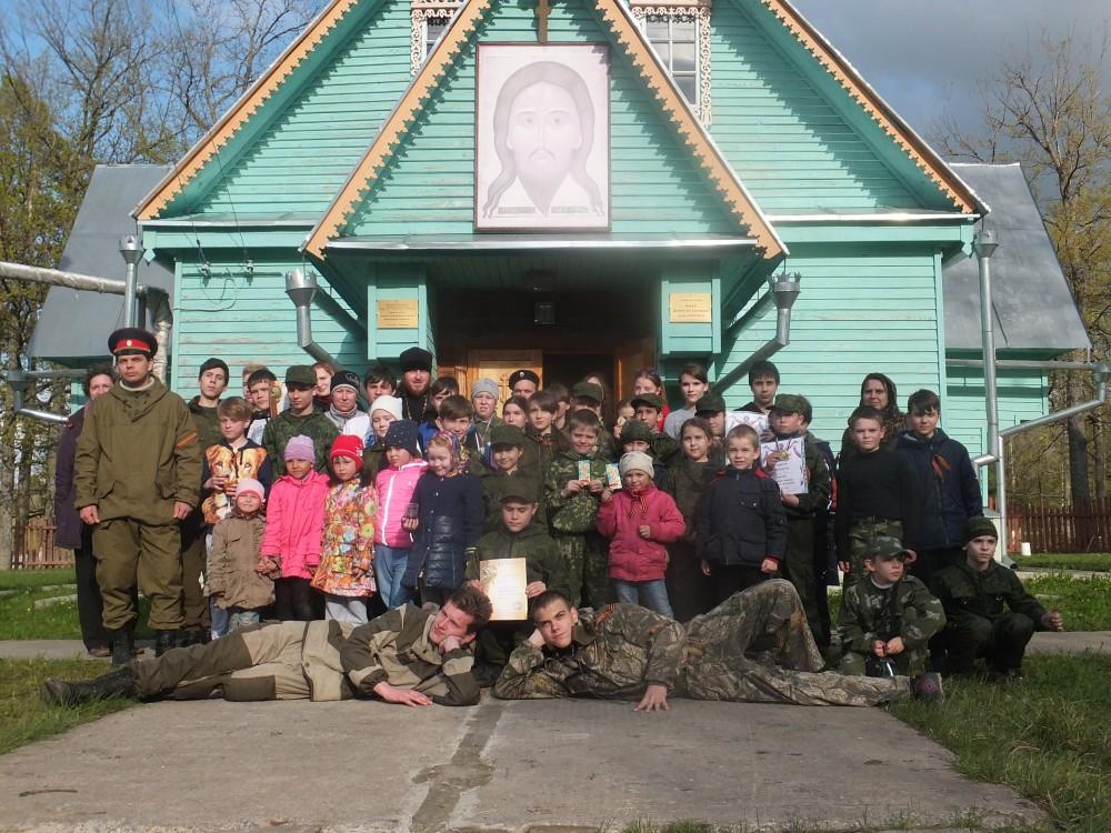 На территории воинской части на станции Леонидовка состоялись военно-патриотические сборы 2016