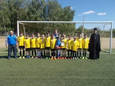 В селе Грабово прошел футбольный турнир на кубок св. вмч. Георгия Победоносца