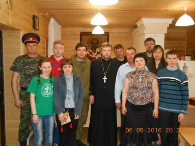 Состоялась очередная встреча молодежи Никольского благочиния