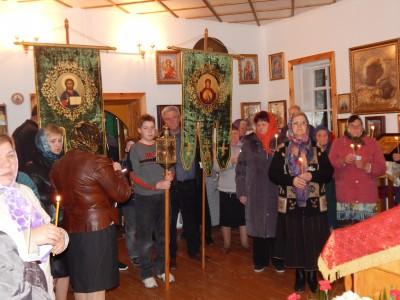 Праздник Воскресения Христова встретили в Леонидовке