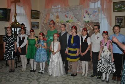 Пасхальный праздник в воскресной школе Димитриевского храма Каменки