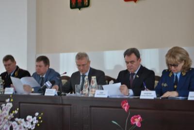 Священник принял участие в заседании региональной антинаркотической комиссии