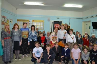 В Доме Престарелых в поселке Золотаревка прошел праздничный концерт