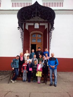 В воскресной школе при Успенской церкви с. Елизаветино завершился учебный год