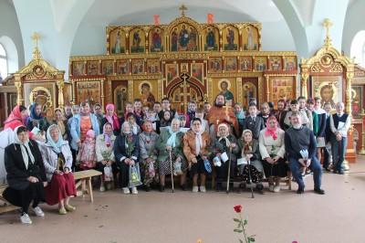 В день памяти святых равноапостольных жен-мироносиц в селе Трофимовка состоялся праздничный концерт