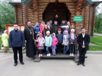 Воспитанники воскресной школы Никольского храма Пензы посетили Семиключье