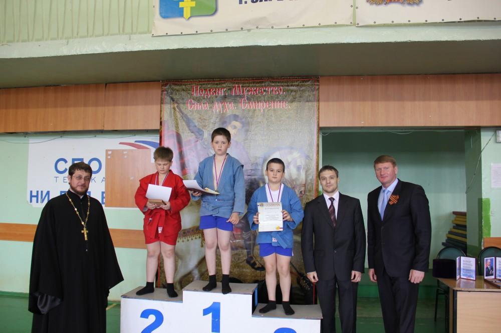 В Заречном состоялся турнир по самбо «Святой Георгий Победоносец»