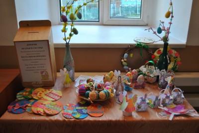 В Каменке состоялась пасхальная благотворительная ярмарка