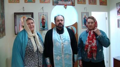 Священник совершил молебен в наркологическом реабилитационном центре с. Русский Ишим
