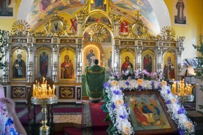 Праздник Святой Троицы в Никольском храме г. Пензы