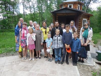 В воскресной школе при Введенском храме м/р Веселовка г. Пензы завершили очередной учебный год