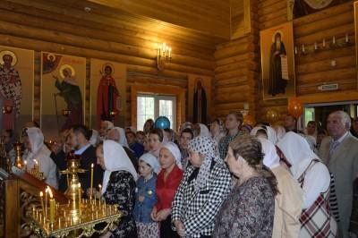 В Неделю 6-ю по Пасхе в храме-часовне святого Георгия Победоносца г. Заречного состоялась Литургия