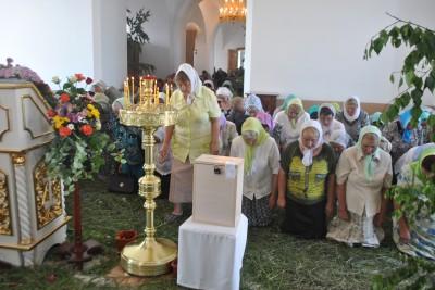 День Святой Троицы в Каменском благочинии
